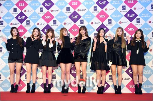 [MD포토] 러블리즈 ′사랑스런 걸그룹′