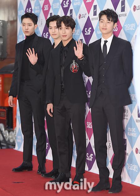 [MD포토] 씨엔블루 ′꽃미남 밴드′
